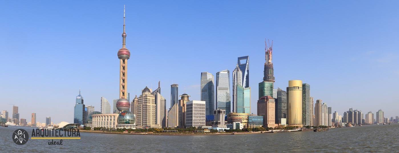 Panorámica de la ciudad de Shangai