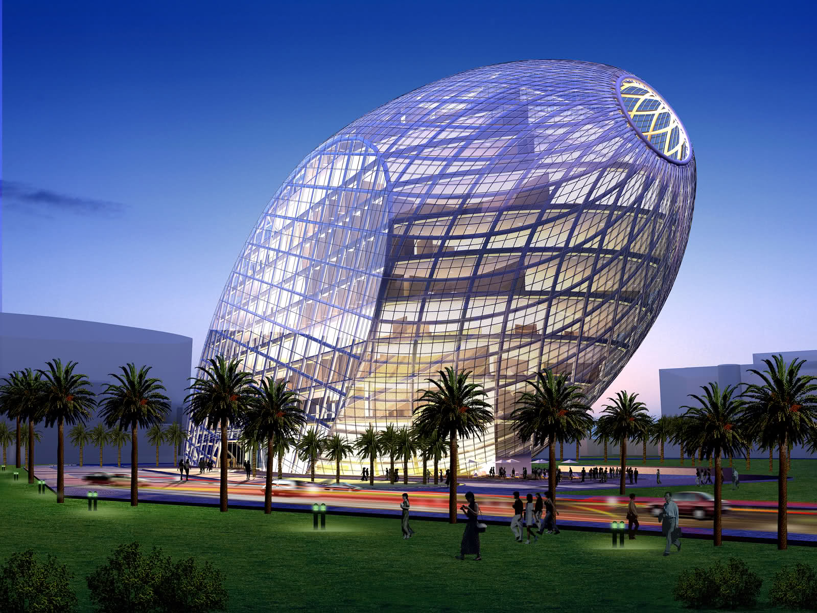 Cybertecture Egg arquitecto james lee 3