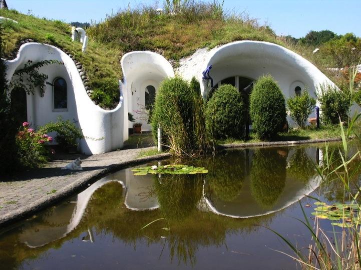 Ecocasas que recuerdan a las de los hobbits 2