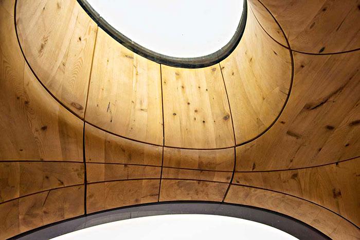 Elegante sauna canadiense con unas vistas extraordinarias 2