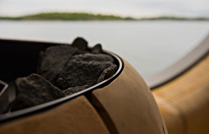 Elegante sauna canadiense con unas vistas extraordinarias 3