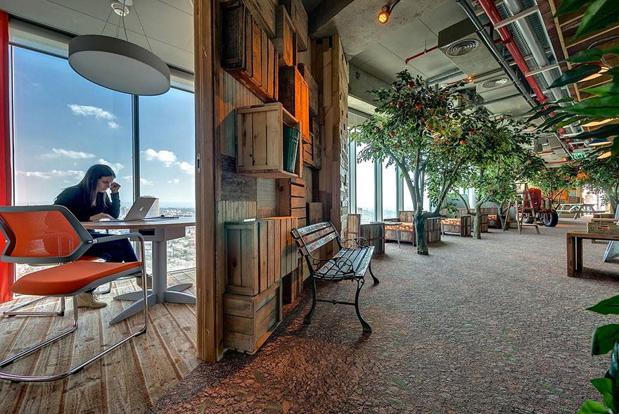 Las 12 oficinas mas chulas del mundo - Arquitectura Ideal - Google 1