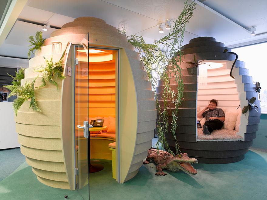 Las 12 oficinas mas chulas del mundo - Arquitectura Ideal - Google 12
