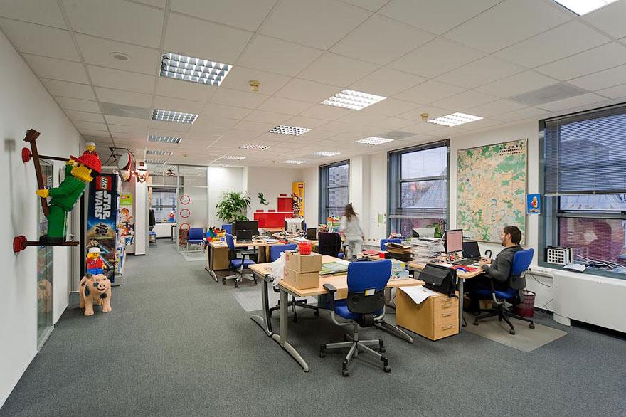 Las 12 oficinas mas chulas del mundo - Arquitectura Ideal - LEGO 4
