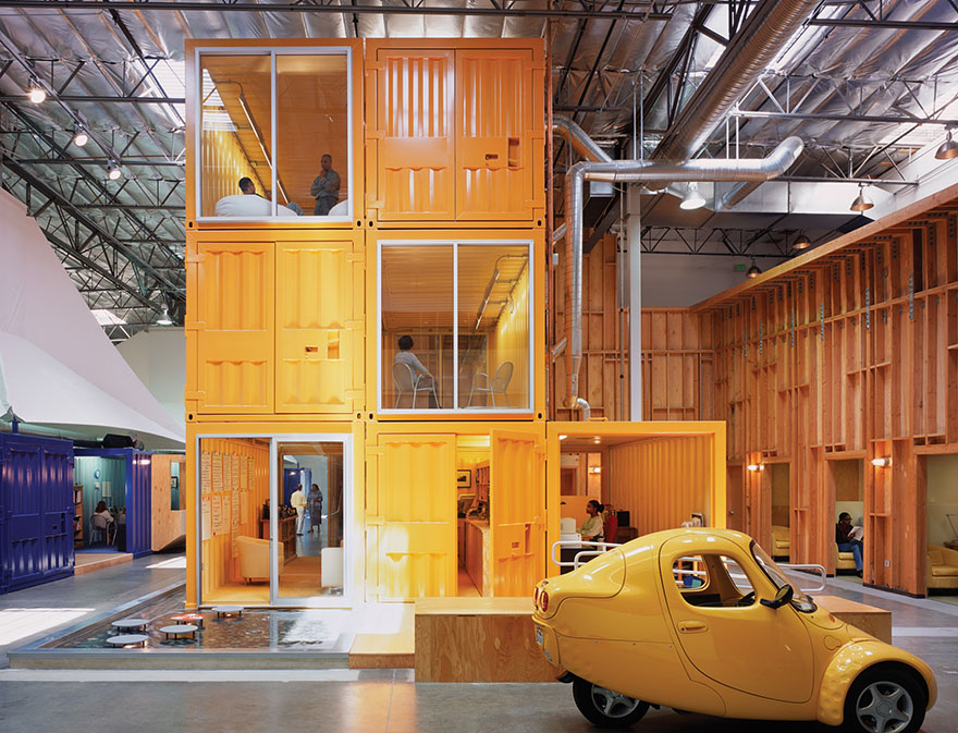 Las 12 oficinas mas chulas del mundo - Arquitectura Ideal - Pallota Teamworks 1