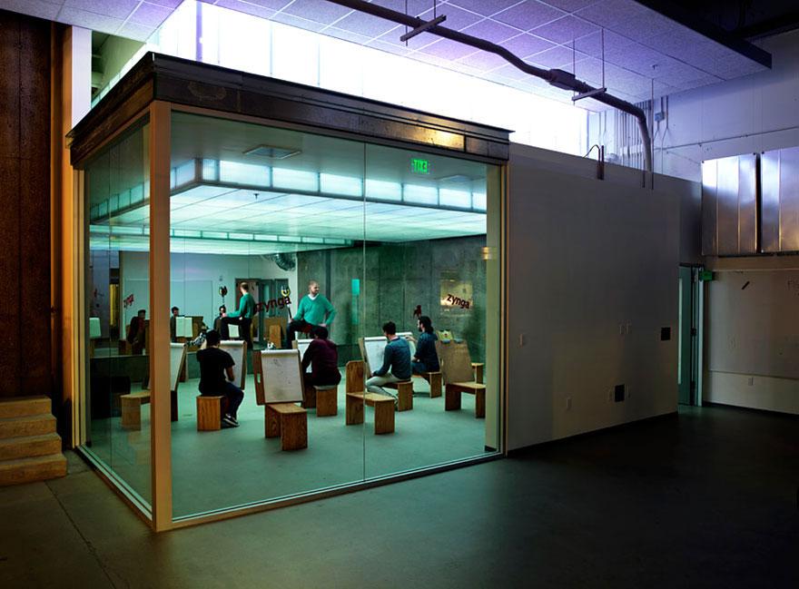 Las 12 oficinas mas chulas del mundo - Arquitectura Ideal - Zynga 2