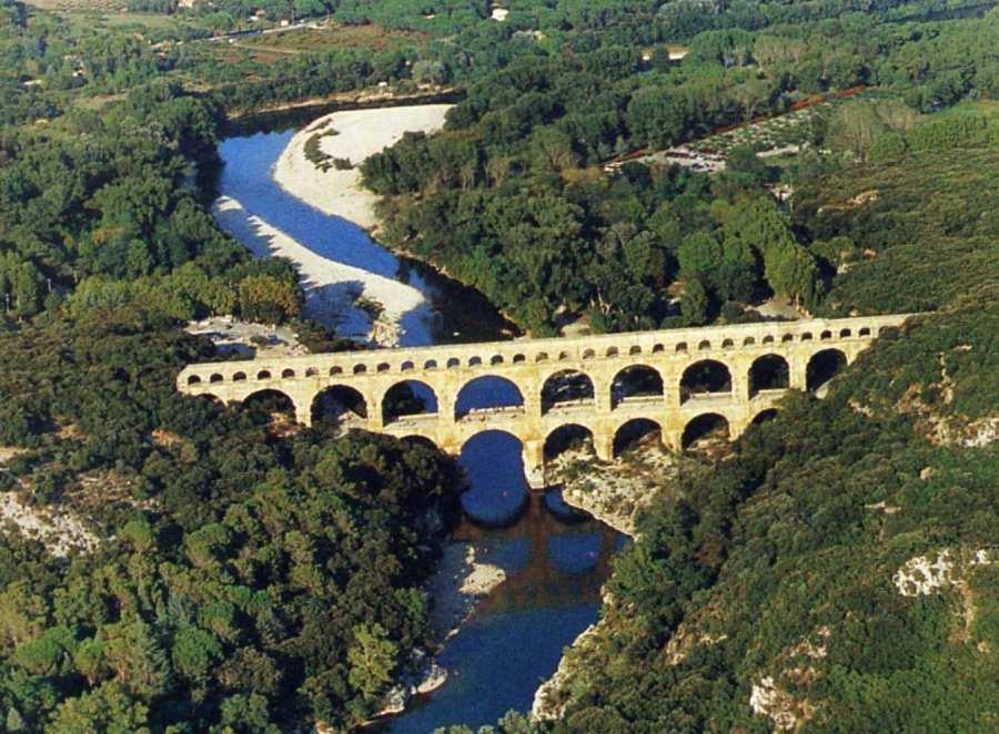 Pont du Gard Aqueduct francia