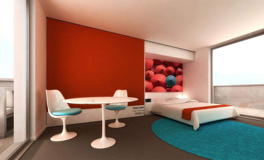 Un hotel en Bruselas te brinda la oportunidad de dormir en tus pantones preferidos 3