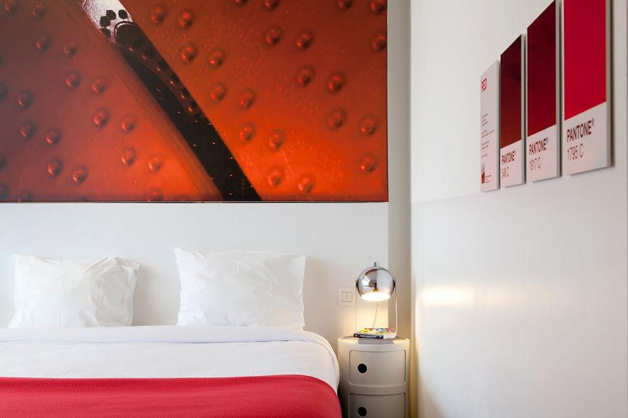 Un hotel en Bruselas te brinda la oportunidad de dormir en tus pantones preferidos 4