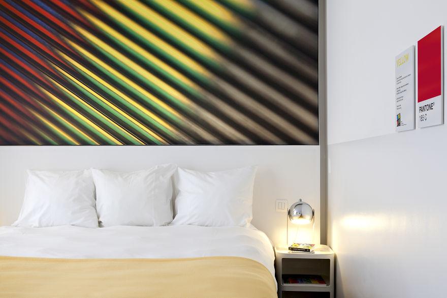 Un hotel en Bruselas te brinda la oportunidad de dormir en tus pantones preferidos 5