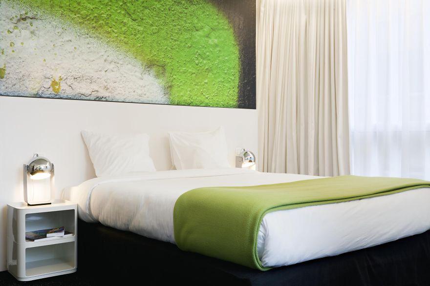 Un hotel en Bruselas te brinda la oportunidad de dormir en tus pantones preferidos 6