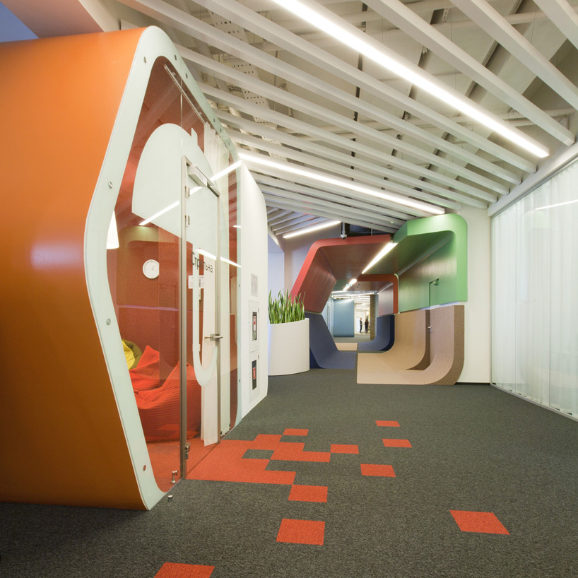 Un paseo por las extraordinarias oficinas de Google Rusia 1