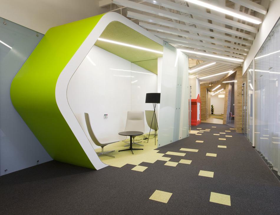 Un paseo por las extraordinarias oficinas de Google Rusia 11