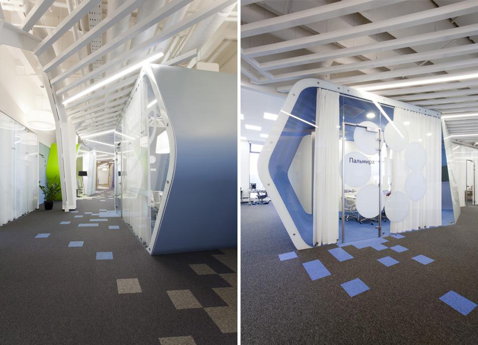 Un paseo por las extraordinarias oficinas de Google Rusia 12