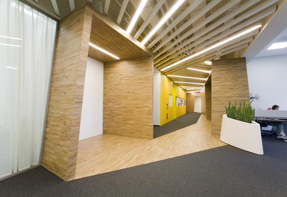 Un paseo por las extraordinarias oficinas de Google Rusia 14