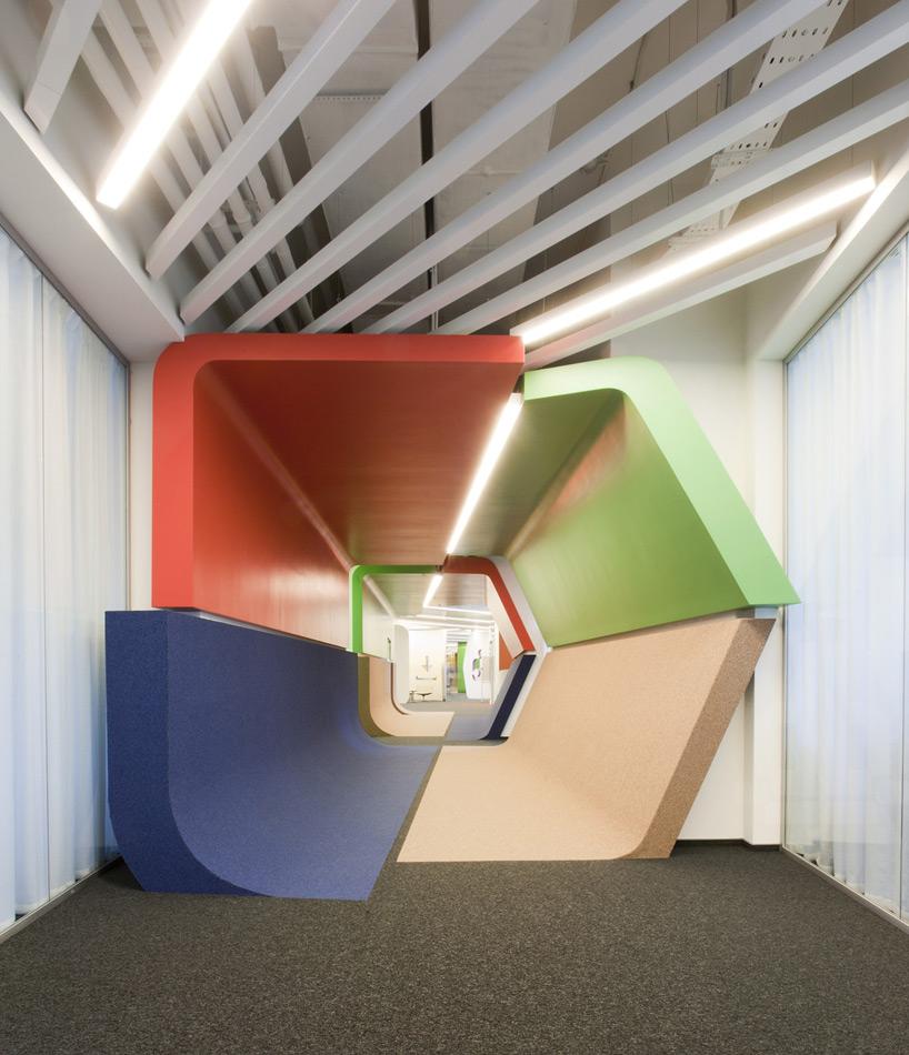 Un paseo por las extraordinarias oficinas de Google Rusia 3