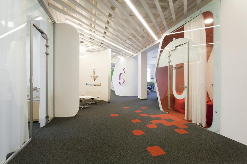 Un paseo por las extraordinarias oficinas de Google Rusia 4