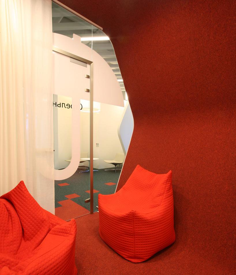Un paseo por las extraordinarias oficinas de Google Rusia 5