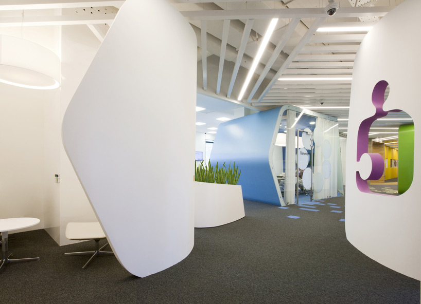 Un paseo por las extraordinarias oficinas de Google Rusia 6