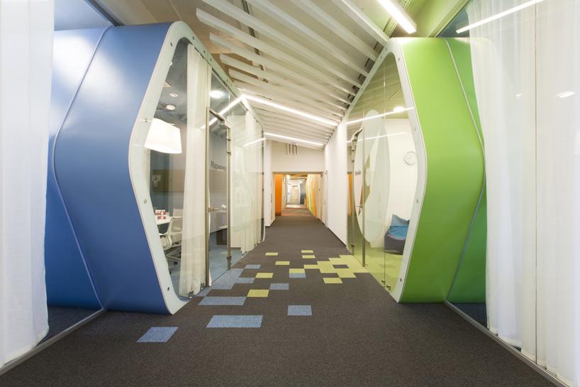 Un paseo por las extraordinarias oficinas de Google Rusia 7