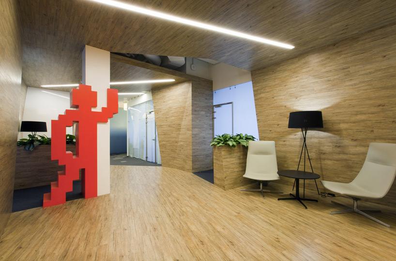 Un paseo por las extraordinarias oficinas de Google Rusia 9