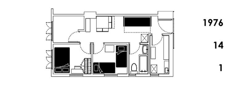 apartamento hong kong 24 en una  1976