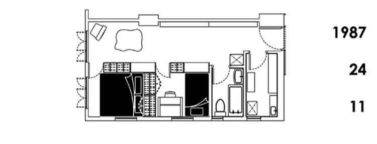 apartamento hong kong 24 en una  1987