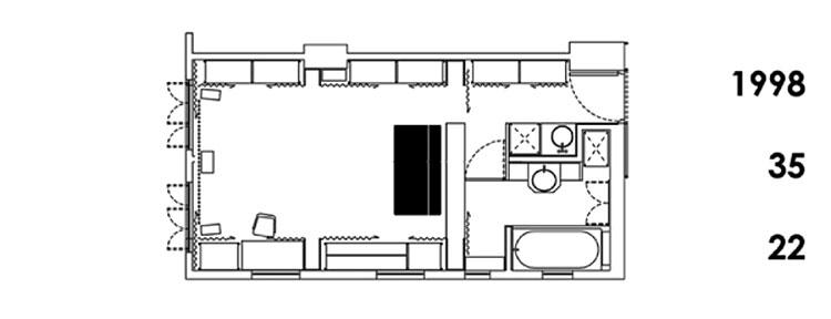 apartamento hong kong 24 en una  1998