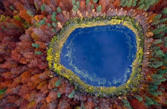 lago en pomerania polonia