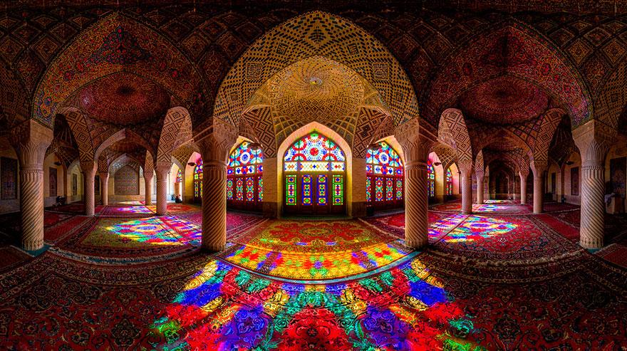 nasir al-mulk mosque shiraz iran 2