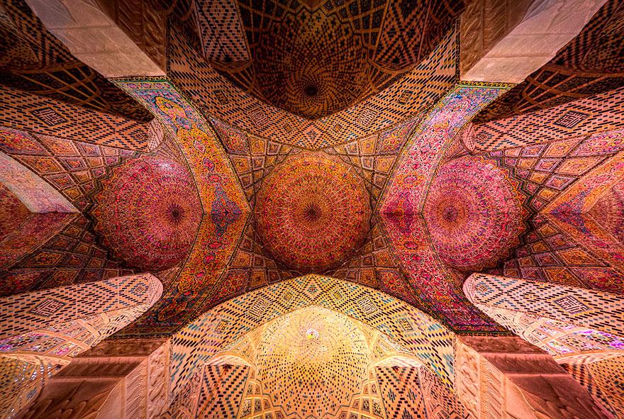 nasir al-mulk mosque shiraz iran 4