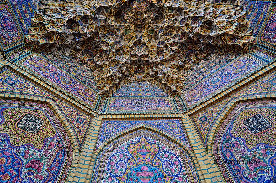 nasir al-mulk mosque shiraz iran 5