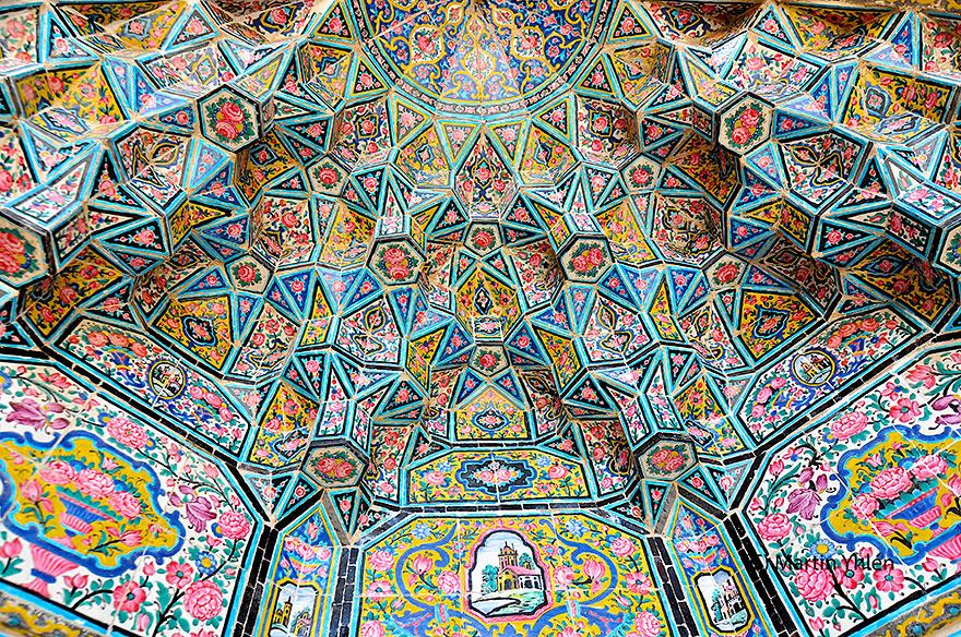 nasir al-mulk mosque shiraz iran 6