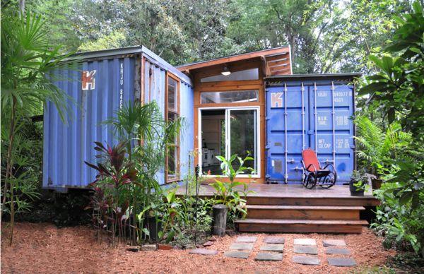 Eco-casa hecha con dos containers 1
