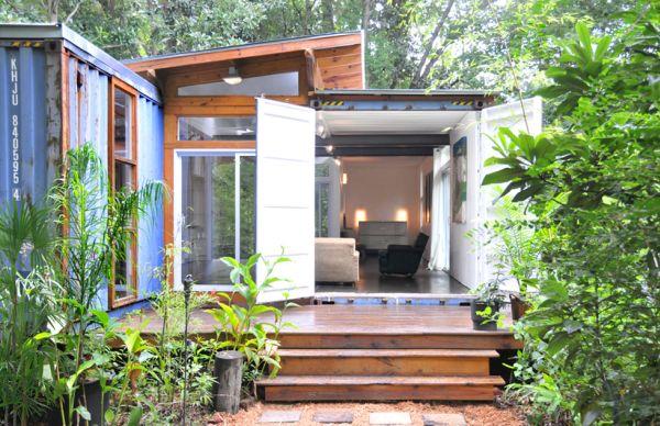 Eco-casa hecha con dos containers 4