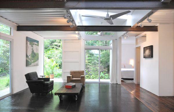 Eco-casa hecha con dos containers 5