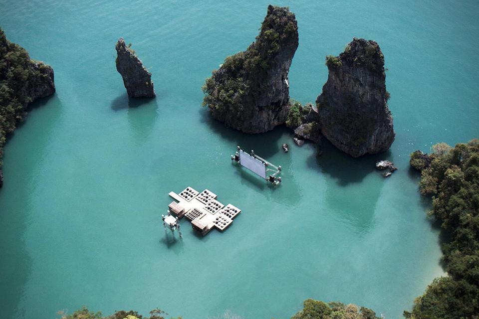 El cine que flota en el agua ya es una realidad 1