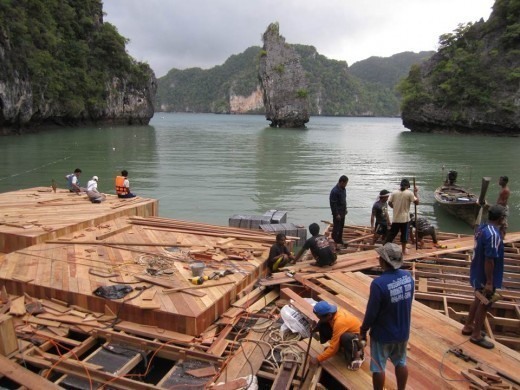 El cine que flota en el agua ya es una realidad 3