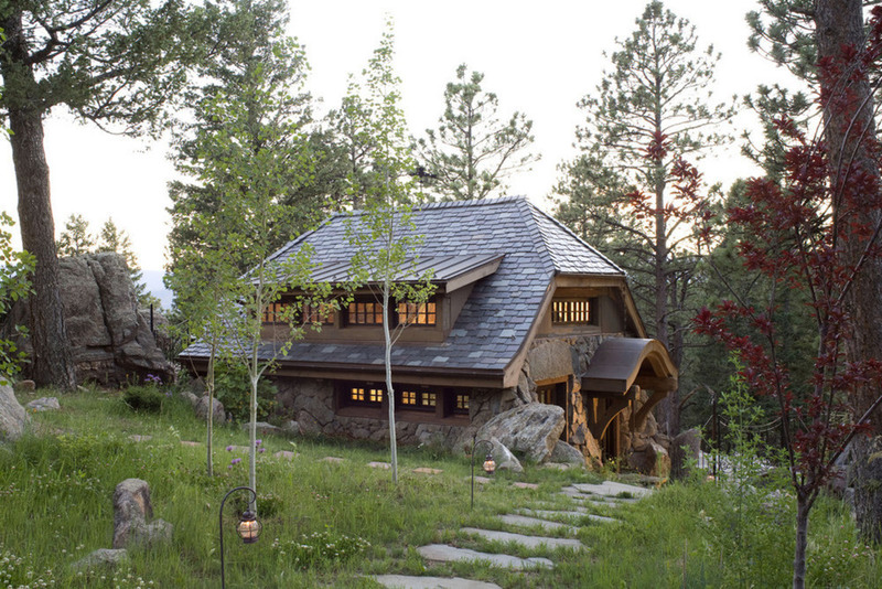 Encantadora casa de campo que parece sacada de un cuento 13