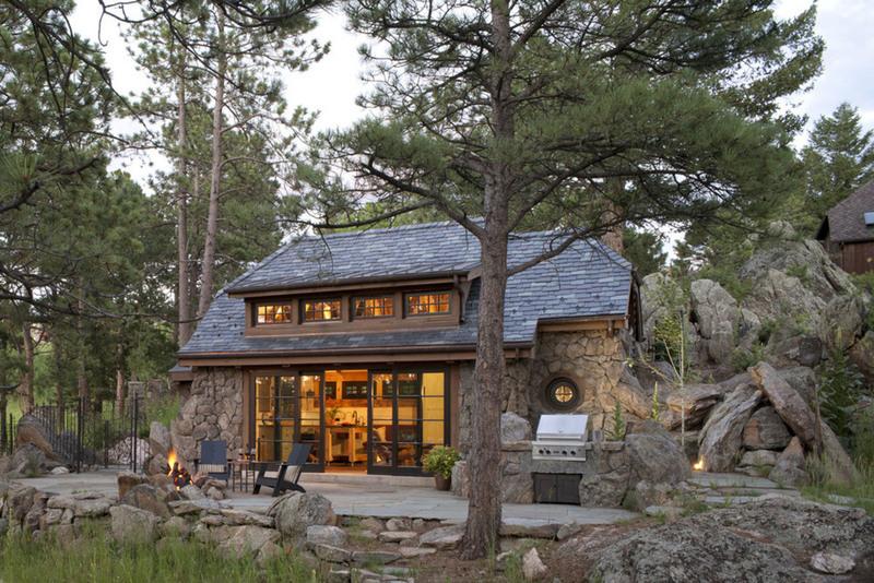 Encantadora casa de campo que parece sacada de un cuento 3