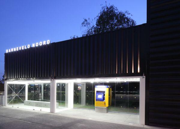 Increíble estación de tren de Holanda hecha con contenedores 10