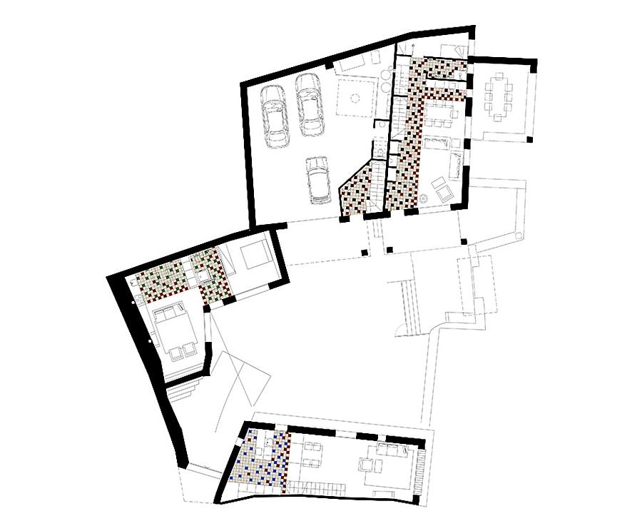 Masia espanola convertida en una casa moderna 16
