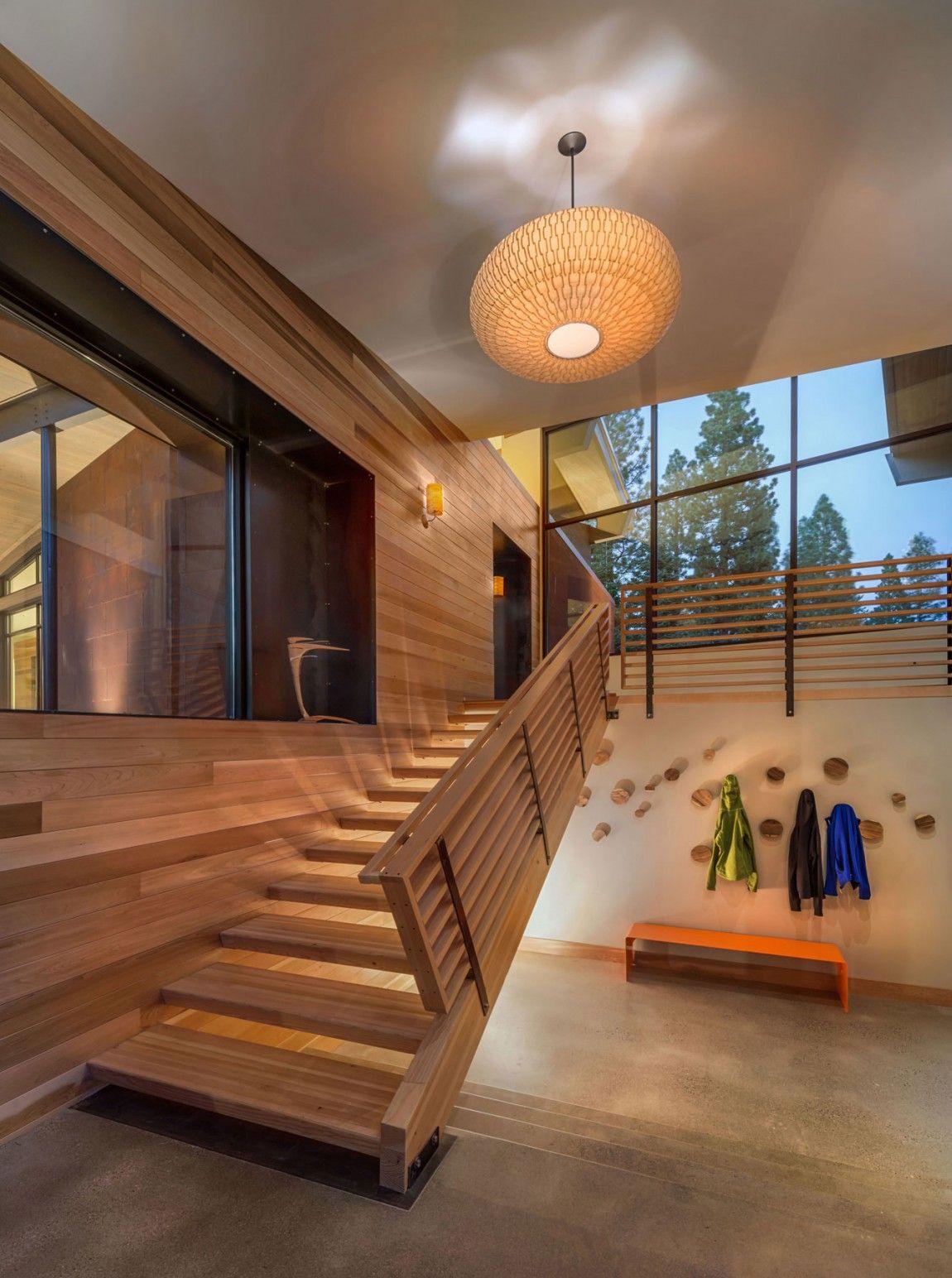 Moderna cabaña en California que se funde con el paisaje 11
