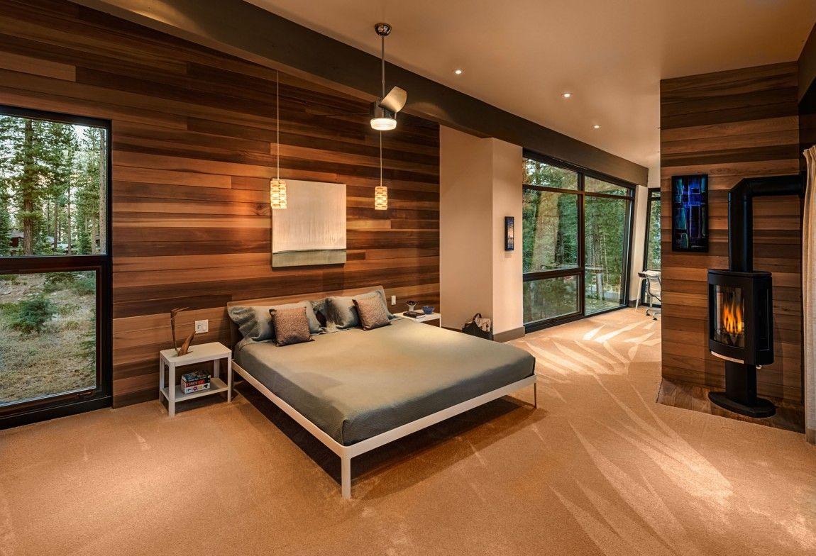 Moderna cabaña en California que se funde con el paisaje 15