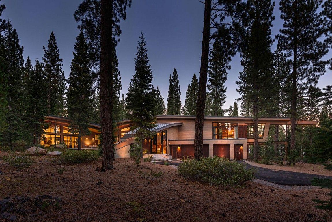 Moderna cabaña en California que se funde con el paisaje 2