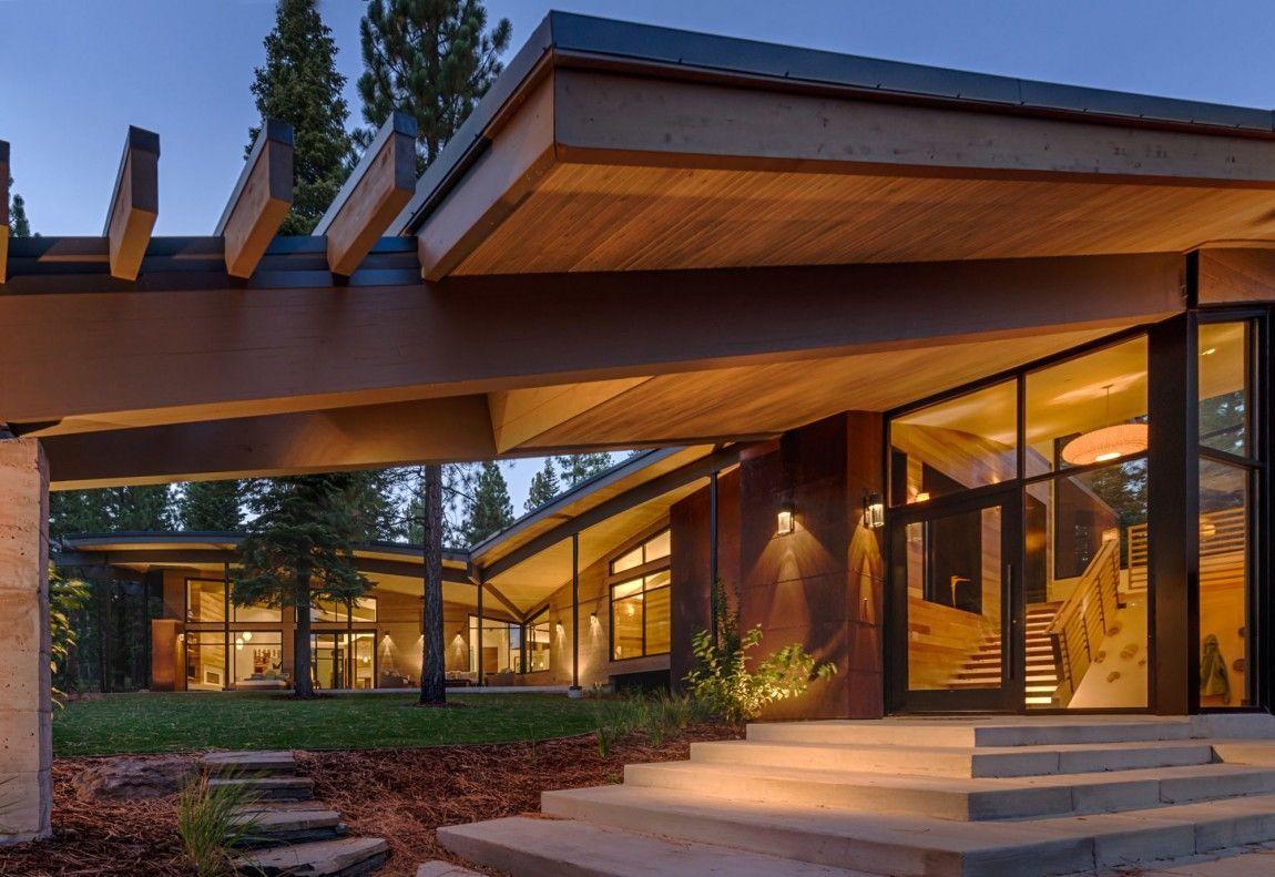 Moderna cabaña en California que se funde con el paisaje 6