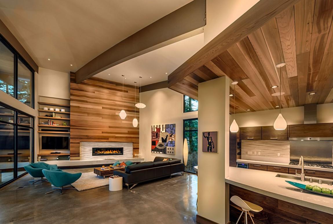 Moderna cabaña en California que se funde con el paisaje 7