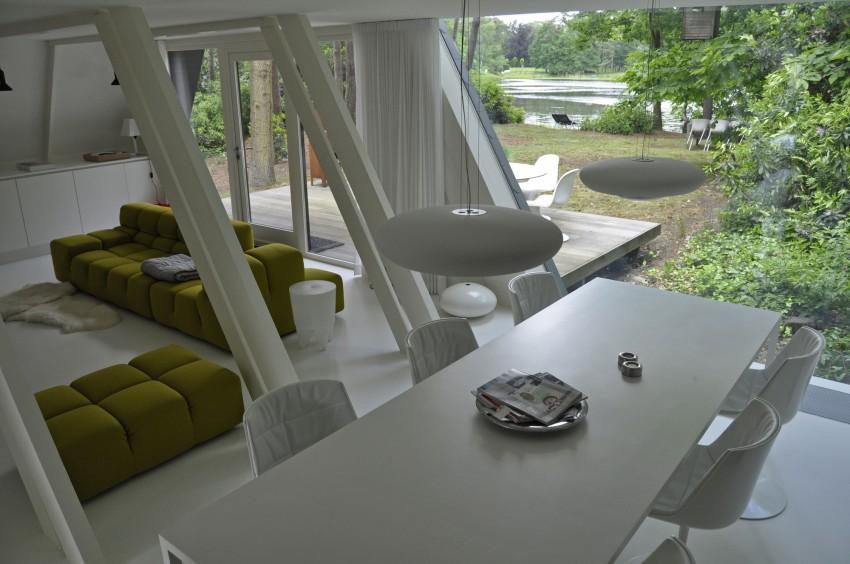 Preciosa cabana en mitad de un bosque belga de estilo minimalista 6