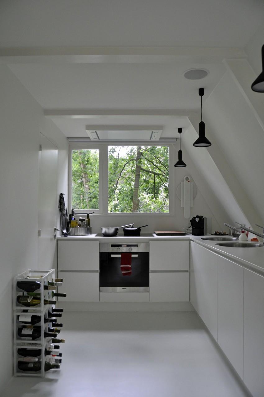 Preciosa cabana en mitad de un bosque belga de estilo minimalista 7