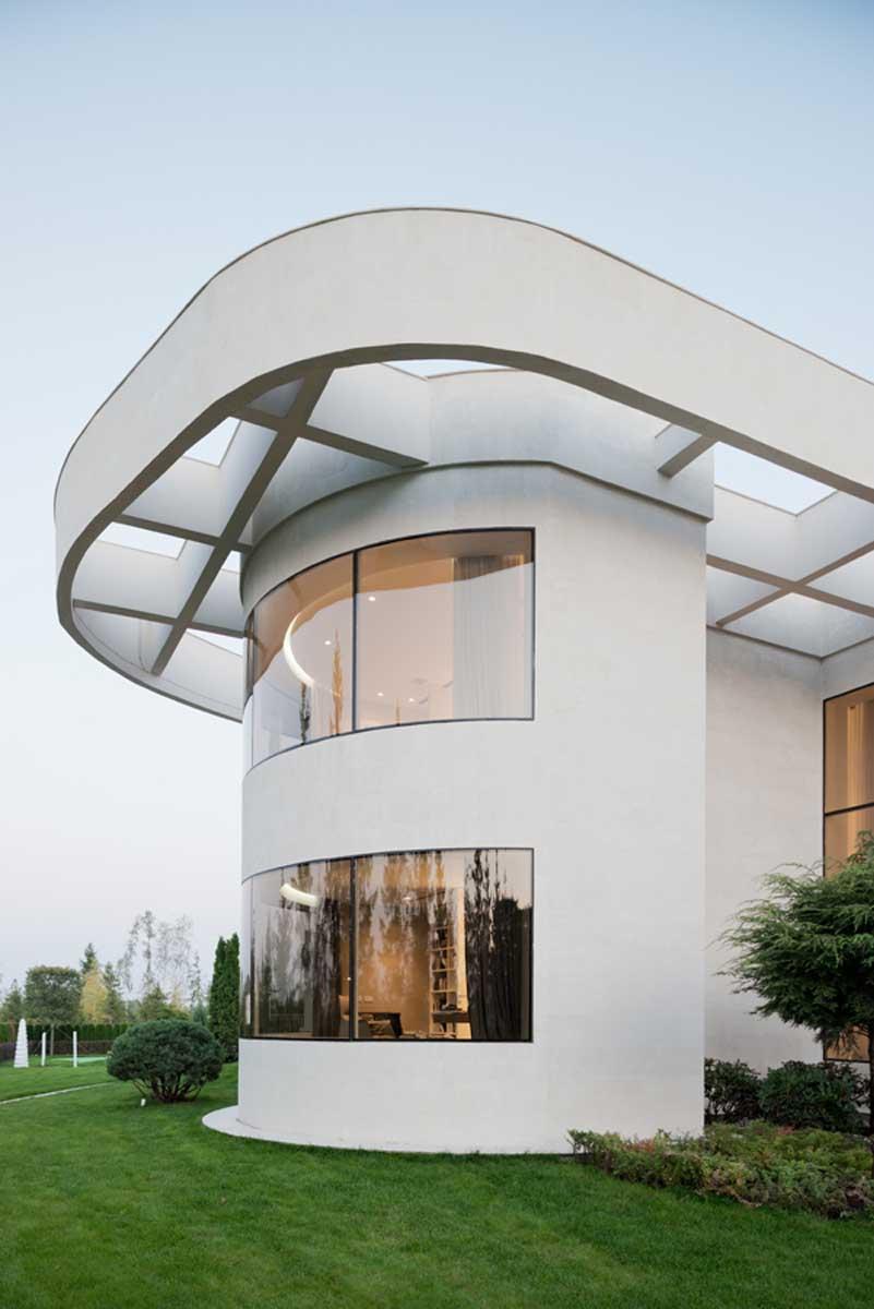 Una casa situada cerca de Moscú lleva el lujo a nuevos extremos 2